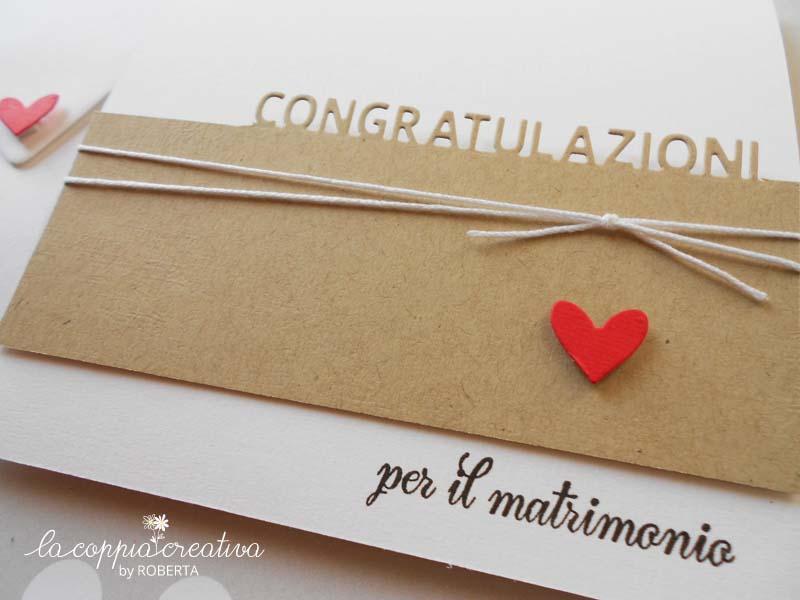 Eccezionale Card per un matrimonio - La Coppia Creativa TA04