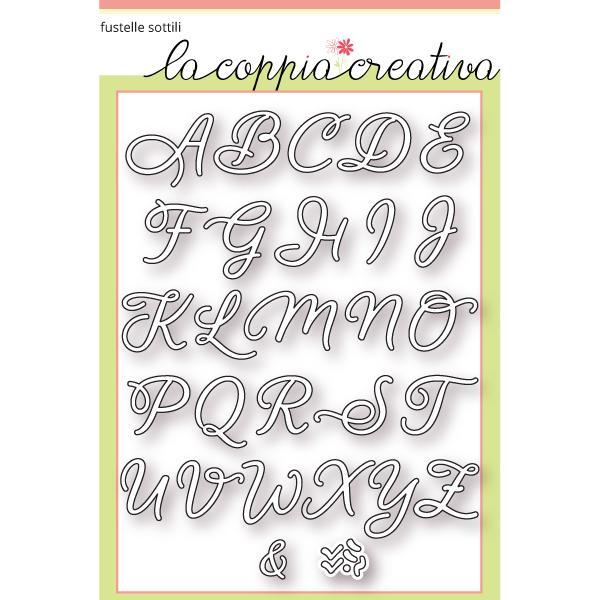Preferenza Presentando le fustelle ABC - La Coppia Creativa JK31