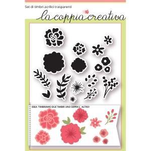 prodotto - fiori delicati timbri