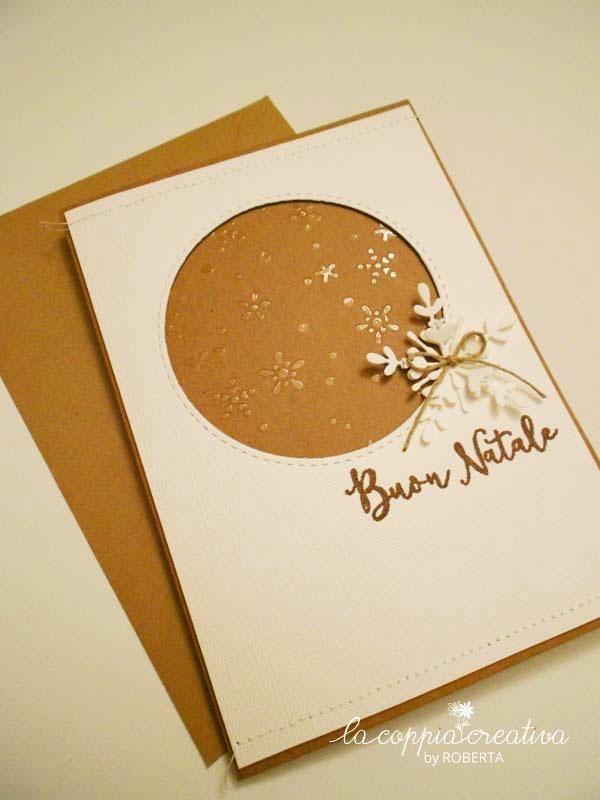 Buon Natale 1a.Card Buon Natale La Coppia Creativa