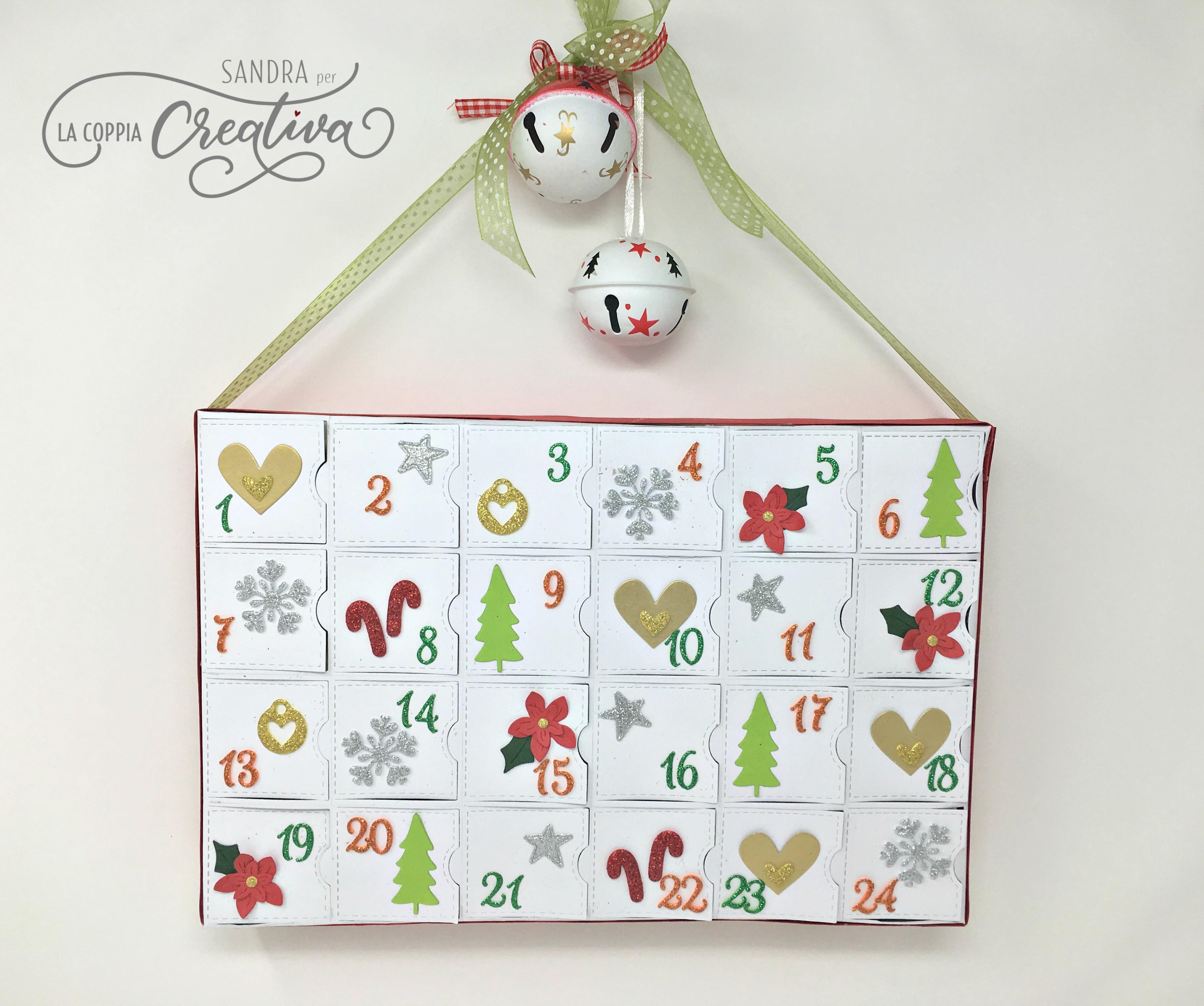 Calendario Dellavvento Punto Croce.Calendario Dell Avvento 2017 La Coppia Creativa