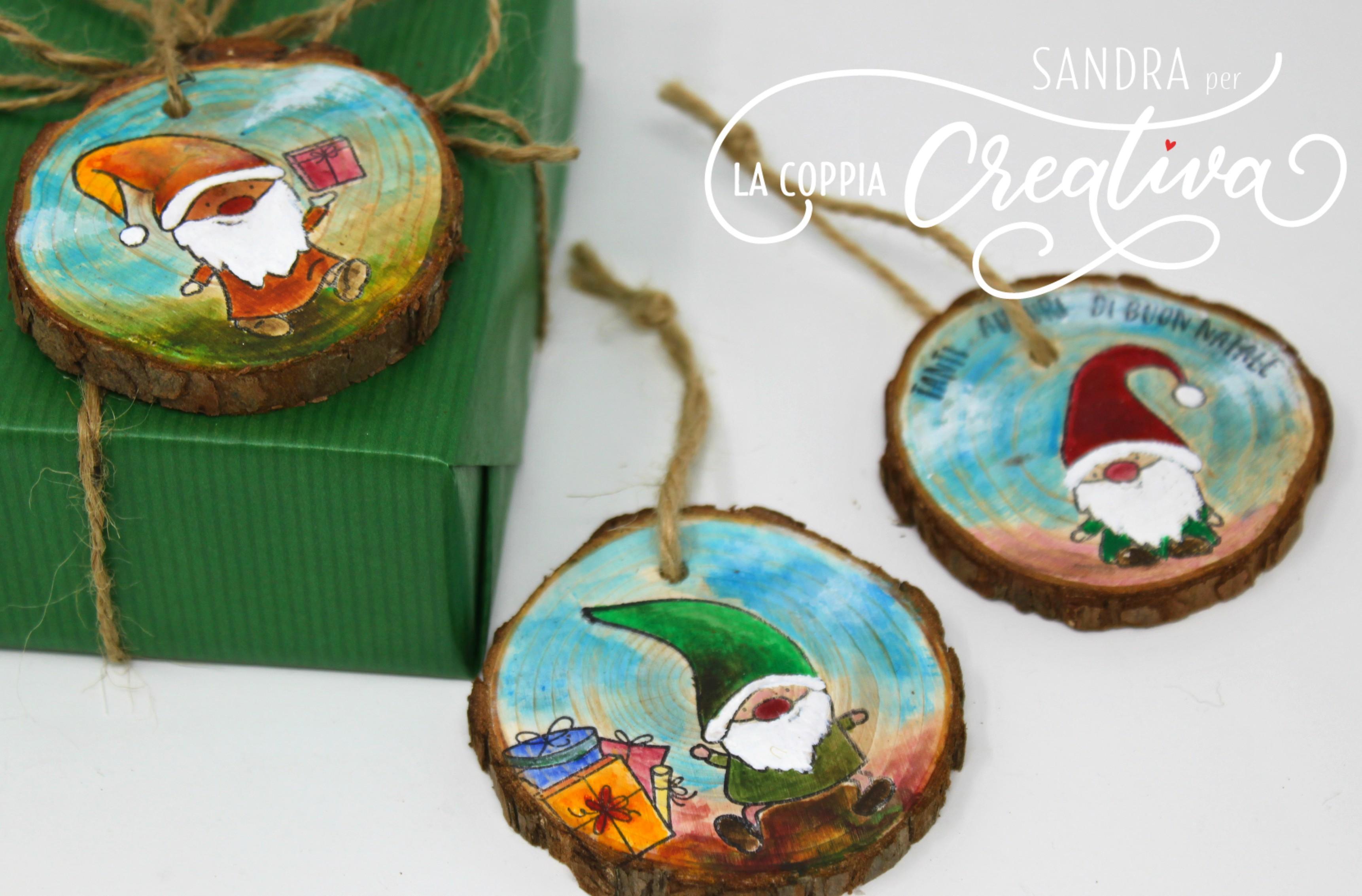 Lavoretti In Legno Per Natale decorazioni natalizie in legno - la coppia creativa